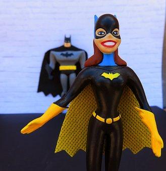 Batgirl, Superhero, Batman, Cape, Mask, Costume, Female