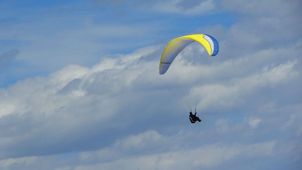 Sport, Flight With Parachute, Skydiving
