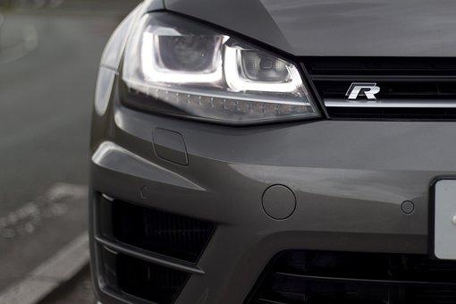 Vw, Golf, R, Automotive, Car, Drive, Speed, Style