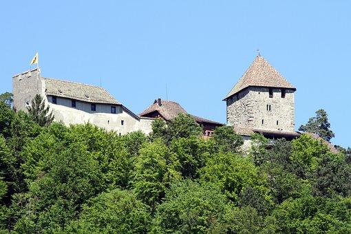 Castle, Hohenklingen, Castle Tower, Wall, Middle Ages