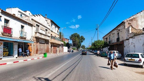 Road, Alger, Algeria, Human, Sky, Blue