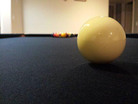 Pool, Billiards, Snooker, Game, Cue, Table, Round, Ball