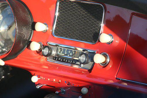 Bmw, 507, Radio, Two Seater Roadster
