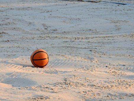 Sand, Beach, Sea, Lake, Swim, Holiday, Play, Ball