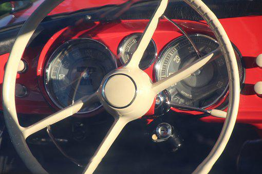 Bmw, 507, Steering Wheel, Two Seater Roadster