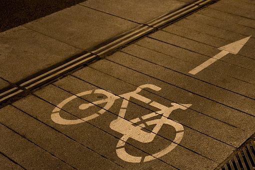 Bike Path, Lane, Bike, Bicycle, Walk, Street, Trail