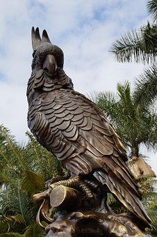 Loro Park, Loropark, Tenerife, Statue, Figure