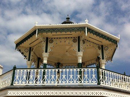 Brighton, Sussex, Uk Bandstand, Architecture, Victorian