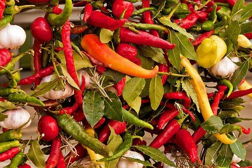 Vegetables, Bazaar, Paprika