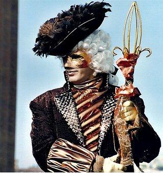 Mask, Venice, Venezia, Italy, Carnival, Venetian Mask