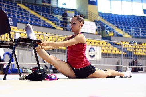 Athlete, Gymnast, Gym, Workout, Athletic Preparation