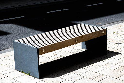 Bank, Road, Sit, Bench, Rest, Click, Seating Furniture