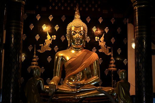 Buddha Statue, Meditation, Buddhism, A Pilgrimage
