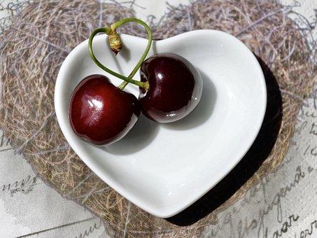 Cherries, Fruit, Red, Fruits, Sweet Cherry
