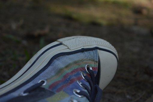 Converse, Shoe, Nikon D7100, Colorful Shoe