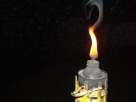 Sailing, Fire, Lamp, Light, Illuminated, Candela, Wick