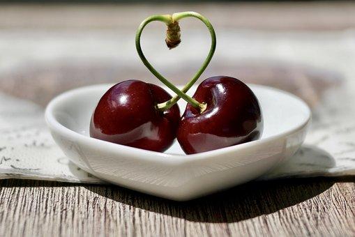 Cherries, Fruit, Red, Fruits, Cherry Harvest