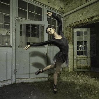 Woman, Dancer, Ballet, Leave, Girl, Dance, Movement