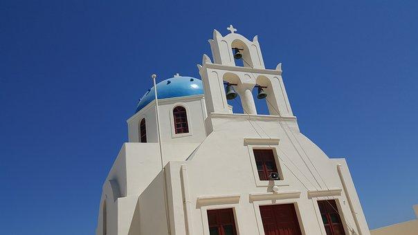 Santorini, Greece, Church