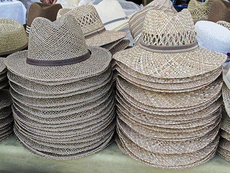 Straw Hat, Summer Hat, Hats, Hat, Sun Protection