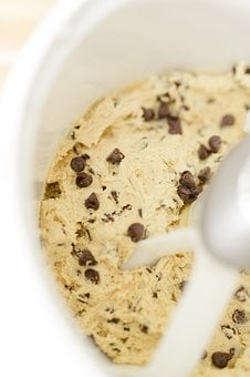 Cookie Dough, Chocolate Chip, Homemade, Baking