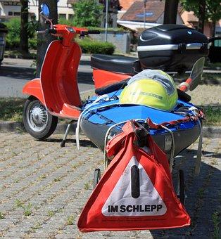 Canoeing, Roller, Tow, Neckar, Summer, Leisure