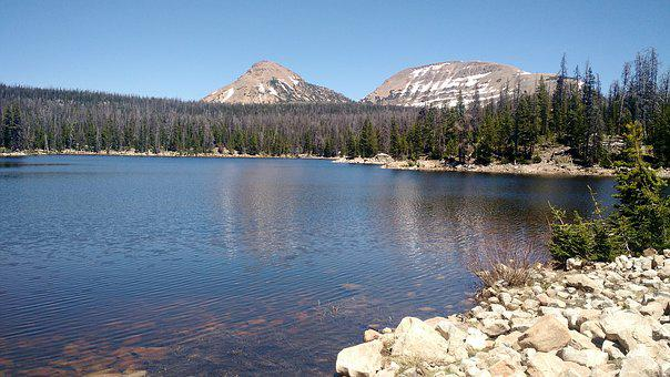 Lake, Mountain, Water, Mountain Lake, Nature, Landscape