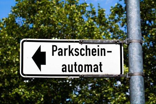Parking Ticket, Park Ticket Vending Machine, Park