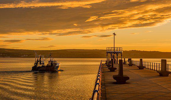 Seascape, Weymouth, Harbour, Sea, Coast, Dorset