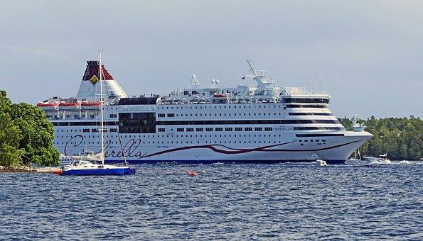Shipping Lane, Archipelago, Stockholm