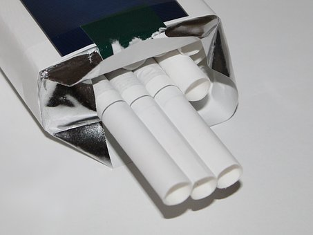 Cigarettes, Soft Pack, Smoking