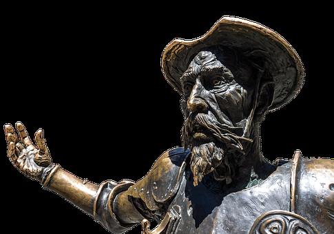 Don Quixote, Spain, Statue, Knight, La Mancha