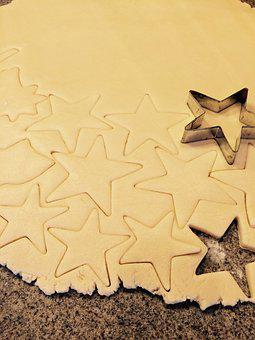 Sugar Cookies, Cookies, Star Cookies, 4th Of July