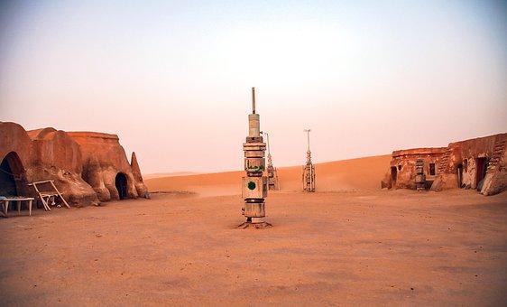 Tunisia, Star Wars, Location, Desert