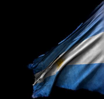 Flag, Argentina, Argentine, Sun, Blue And White