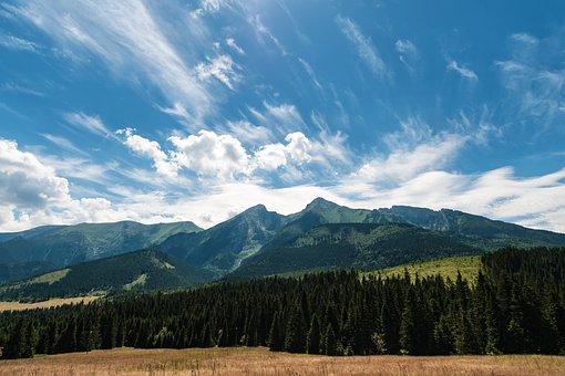 High, Tatra, Border, Poland, Slovakia, Land Borders