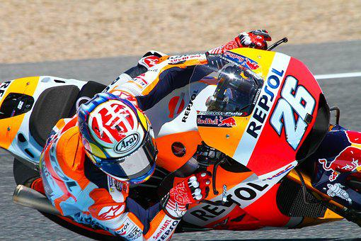 Pedrosa, Motogp, Circuit, Pilot, Winner, Sherry, Helmet