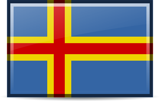 Aland Islands, Flag, Icons, Rodentia Icons