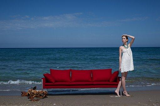 Woman, Dress, Fashion, Furniture, Design, Architecture