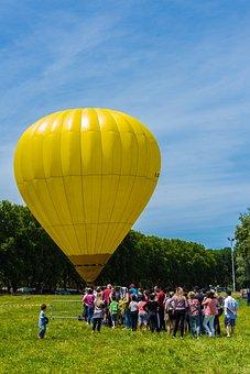 Hot-air Ballooning, Animation, Baptism, Ball, Tourists