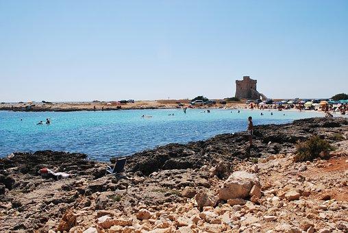 Salento, Porto Cesareo, Beach, Torre, Ionian Sea