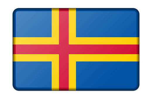 Aland, Banner, Decoration, Flag, Sign, Signal, Symbol