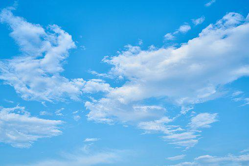 Cloud, Blue, Clouds, White, White Clouds, Landscape
