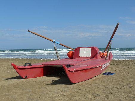 Boot, Lifeboat, Rowing Boat