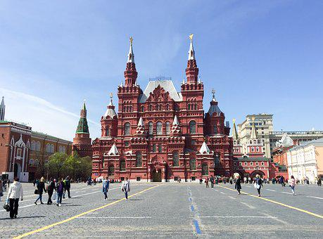 Moscow, Red Square, River Cruise, Russia, Capital