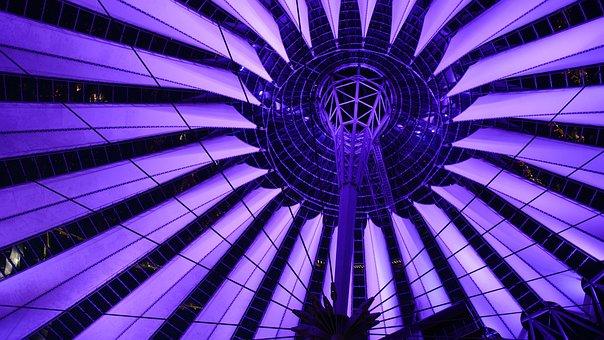 Sonycenter, Sony Center, Berlin, Potsdam Place, Dome