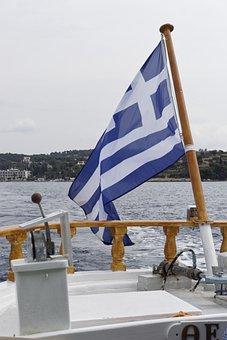 Sailing, Greece, Sea, Ship, Vacation, Holiday, Travel