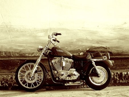 Bike, Harley, Motorcycle, Speed, Road, Davidson