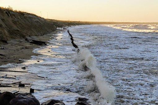 Storm, The Cove, Skåne, ängelholm, Sandy Beach