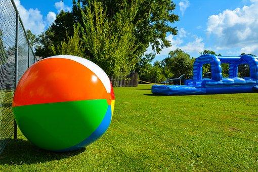 Summer, Beach Ball, Vacation, Summertime, Fun
